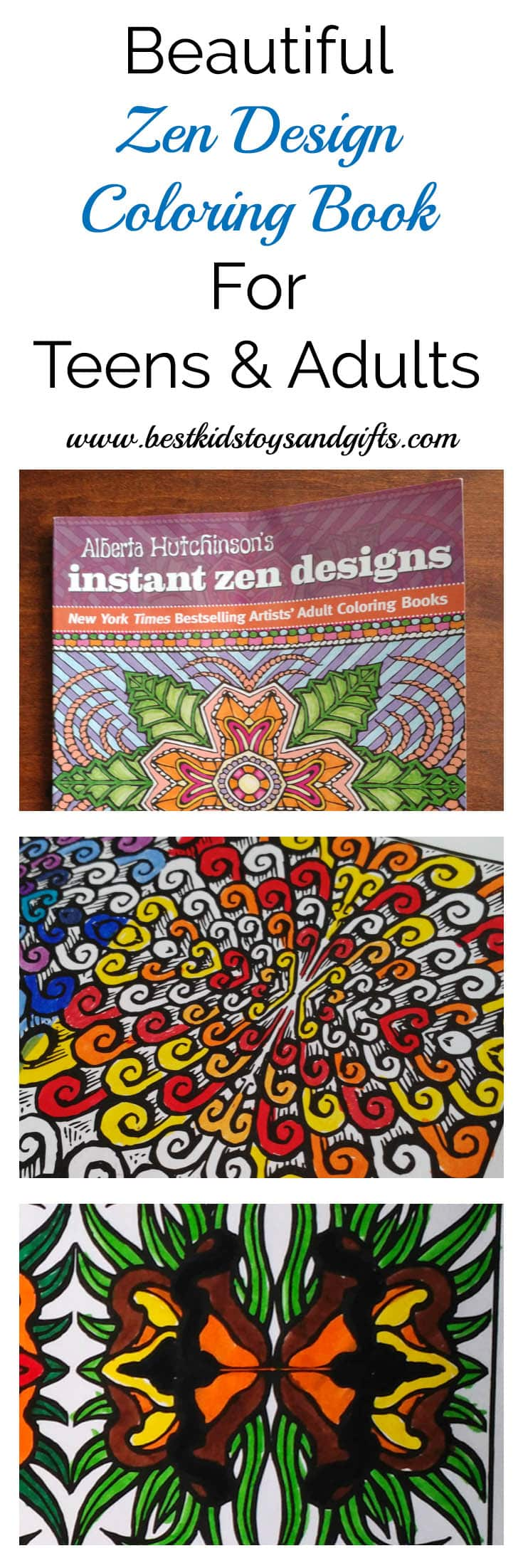Beautiful Zen Coloring Book For Teens & Adults - Best Kids Toys And ...